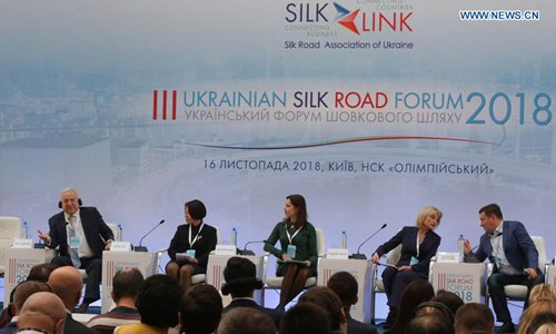 Ukraine hosts 3rd Silk Road Forum to strengthen cooperation with China