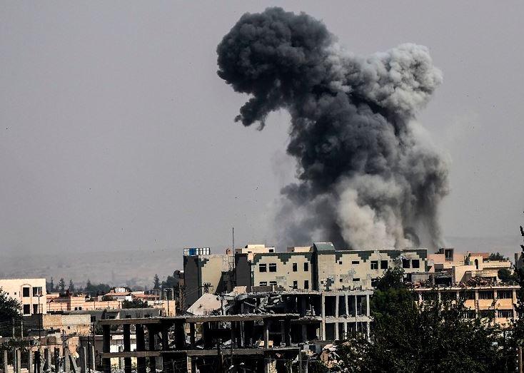 Escalating US-led airstrikes kill 40 civilians in eastern Syria