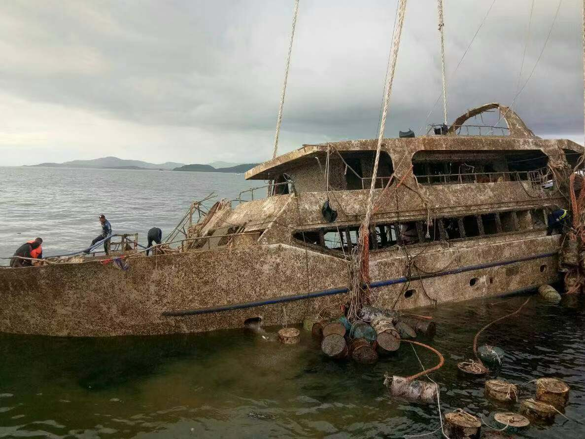 Boat that sank off Phuket, killing 47 Chinese tourists, recovered
