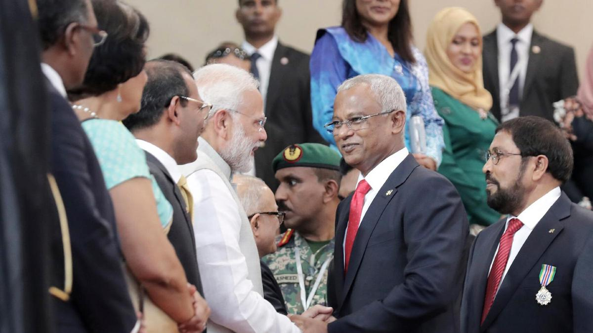 New Maldives president meets Chinese President Xi's special envoy