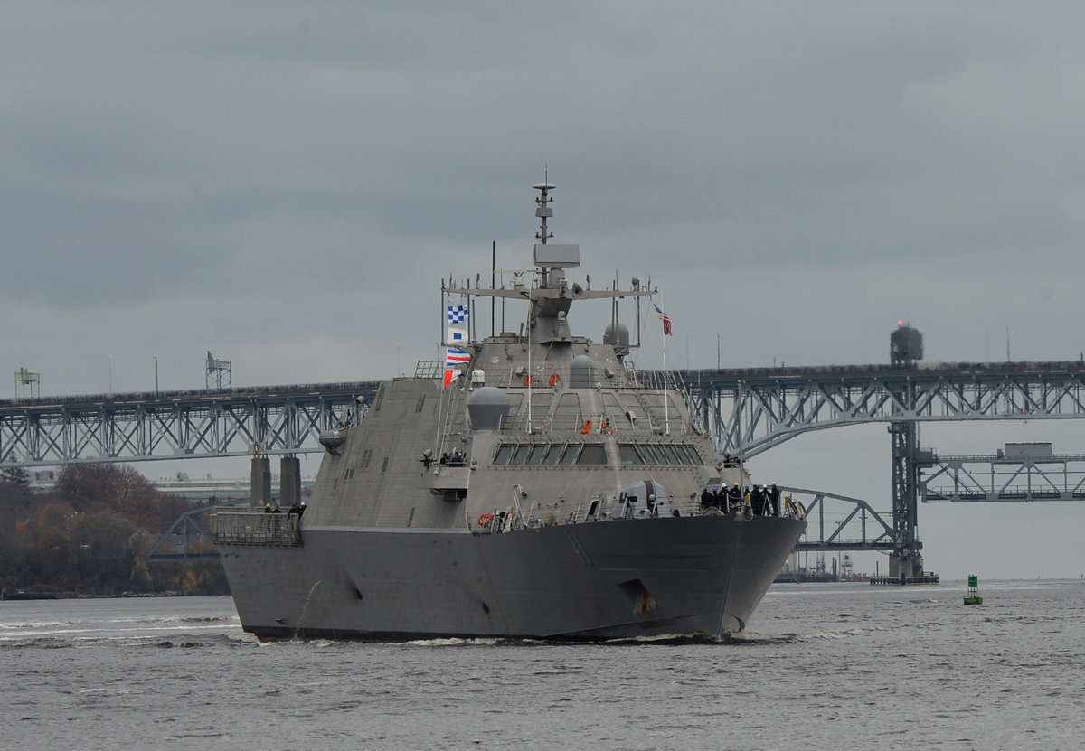 US Navy commissions littoral combat ship Sioux City