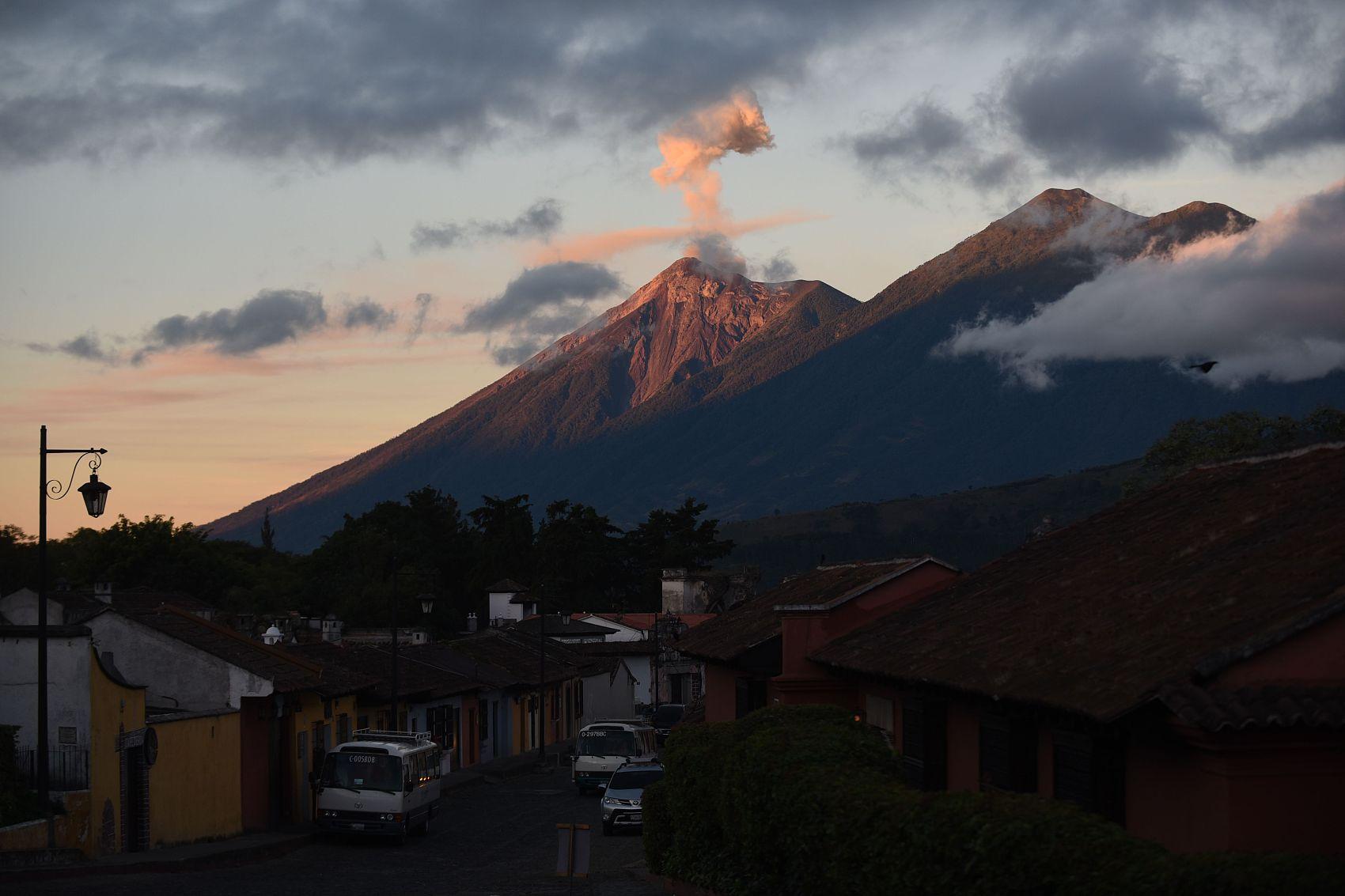 Authorities call for evacuations around Volcano of Fire in Guatemala