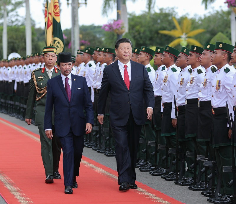 China, Brunei lift ties to strategic cooperative partnership