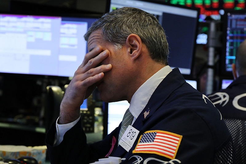 US stocks open lower as Apple shares drag tech sector down