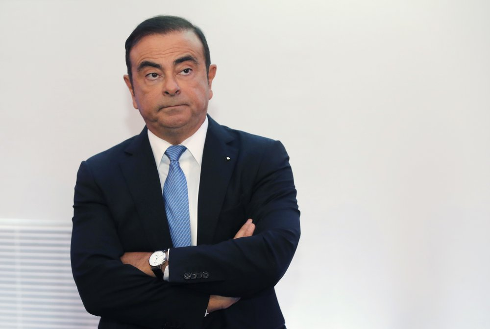 Nissan chairman Ghosn arrested for allegedly violating financial law in Japan