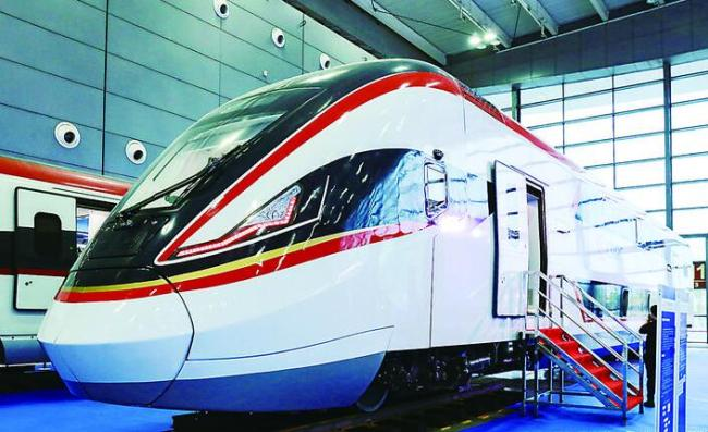 New types of high-speed trains debut in China