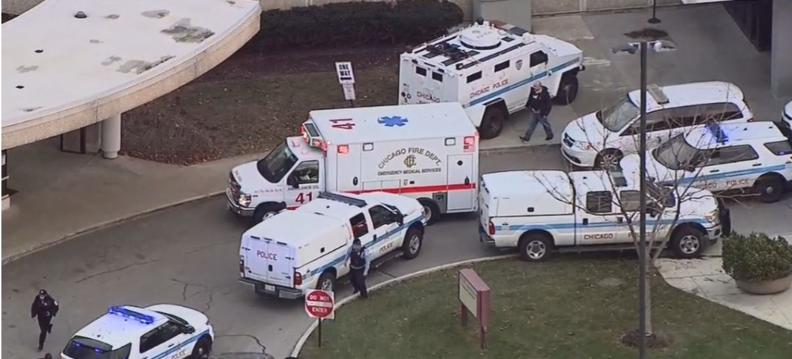 Multiple people reported shot near hospital in Chicago
