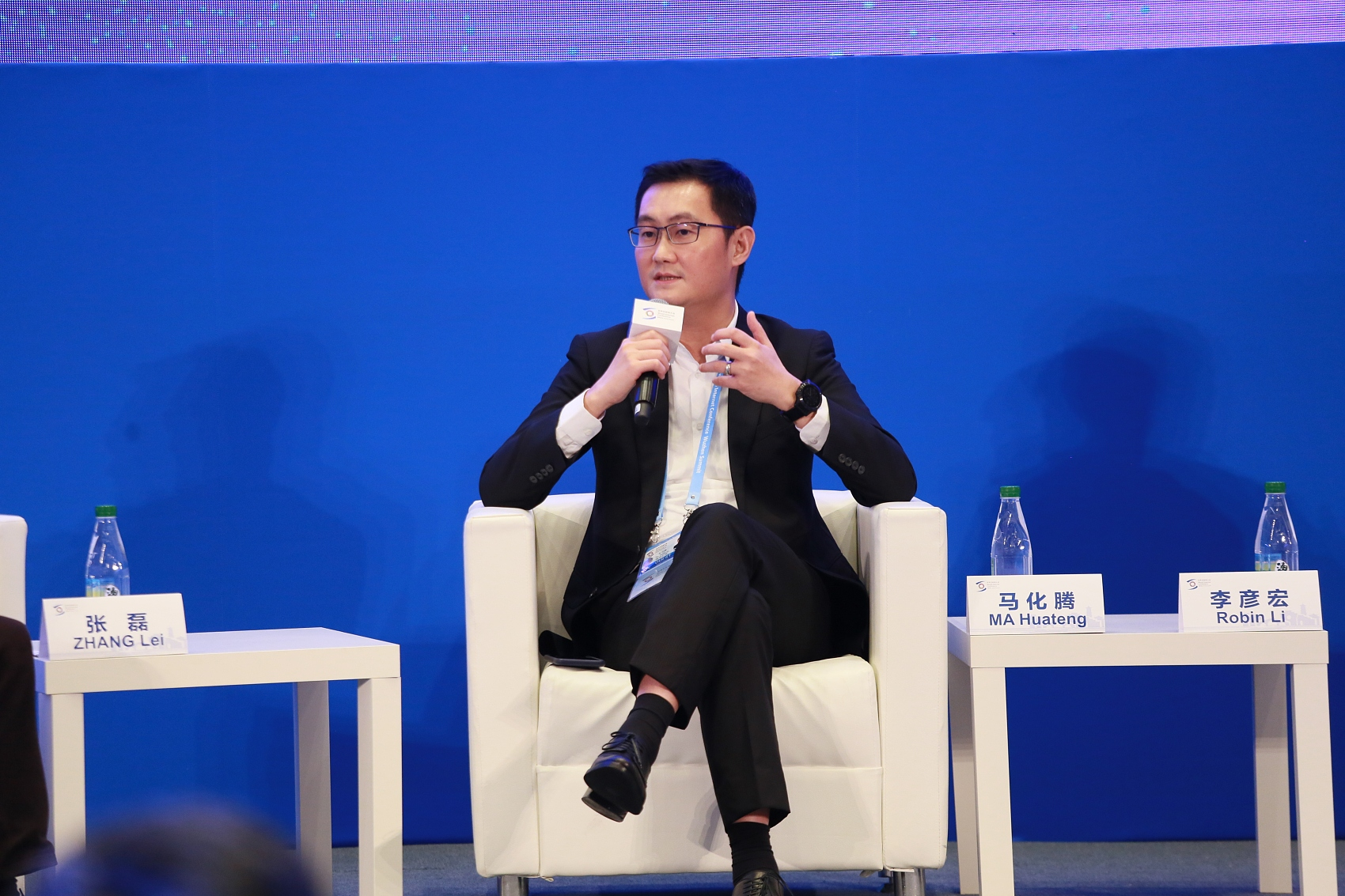 To connect everything: Tencent's Pony Ma