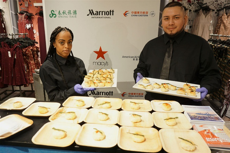 Shanghai promotes local flavors in Macy's NYC flagship store