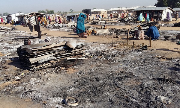 Boko Haram attacks leave 53 dead in pre-election show of force