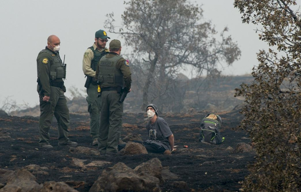 Rain could hamper search for victims of California wildfire