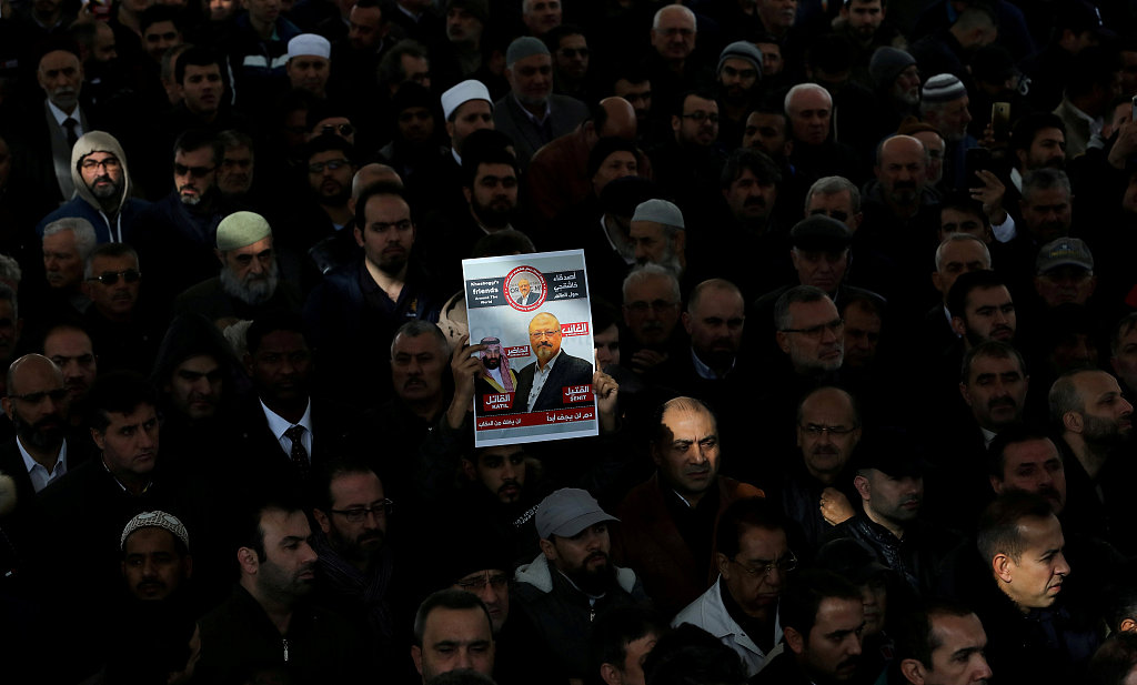 Trump says no penalty for Saudi prince for Khashoggi murder