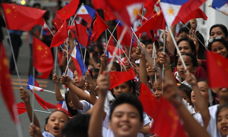 To jointly create a golden age of China-Philippines relations