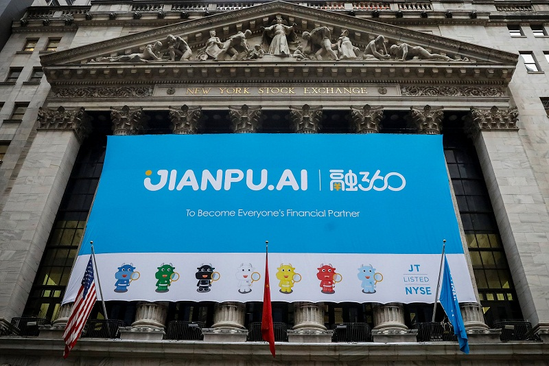 NY-listed Jianpu posts high-than-expected result