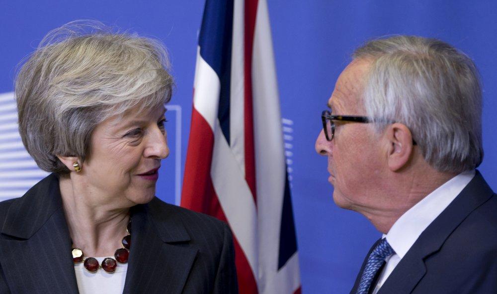 British, EU leaders meet as Brexit deadline looms