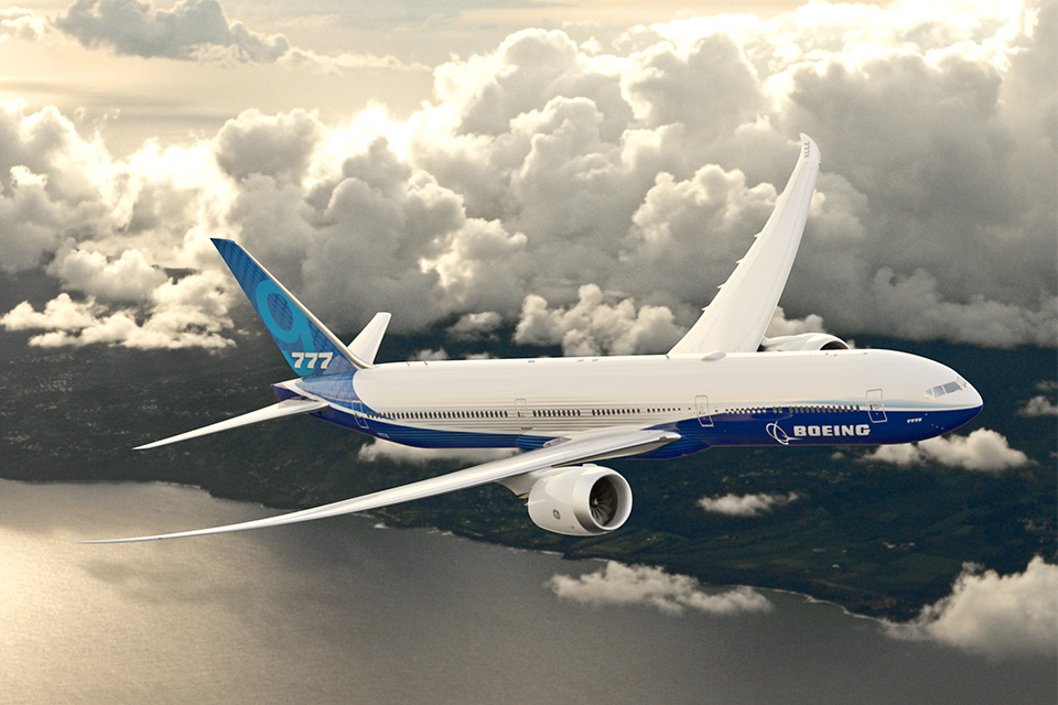 Boeing completes assembly of first 777X flying prototype for 2019 flight test