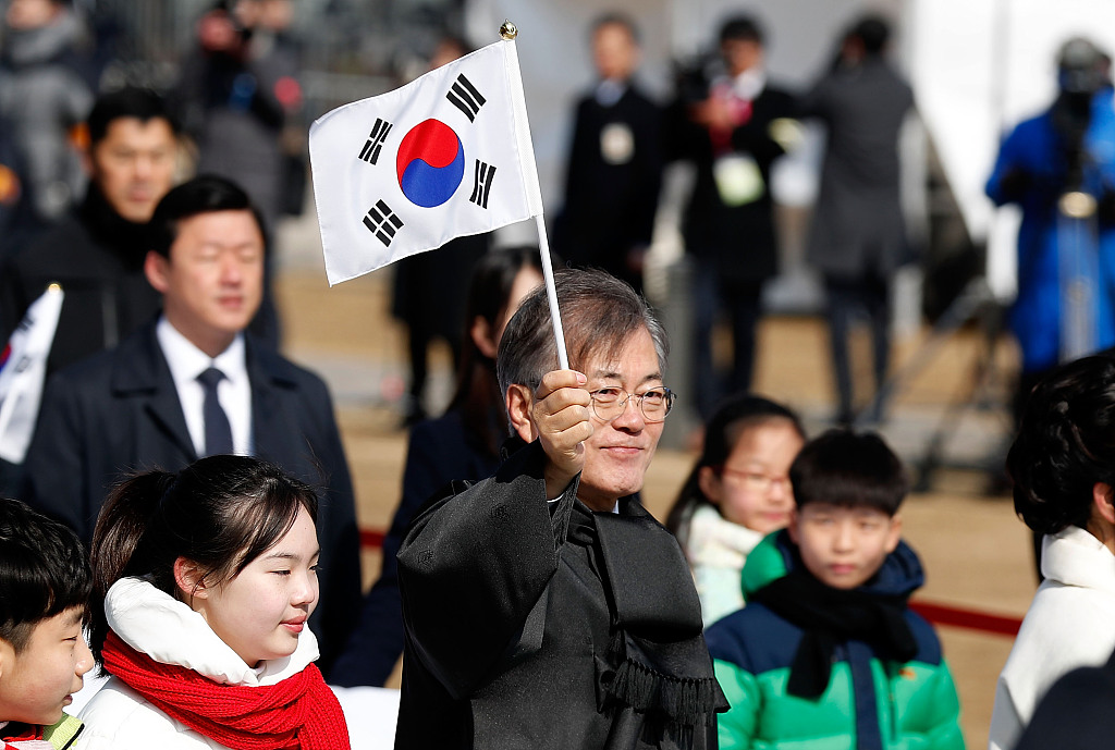 S.Korean president's approval rating hits lowest since taking office