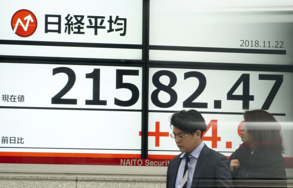 Stocks slip in Europe, Asia as US closed for holiday