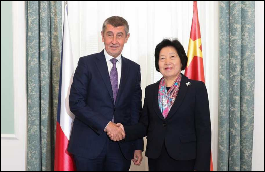 China to strengthen cooperation with Czech in people-to-people exchanges