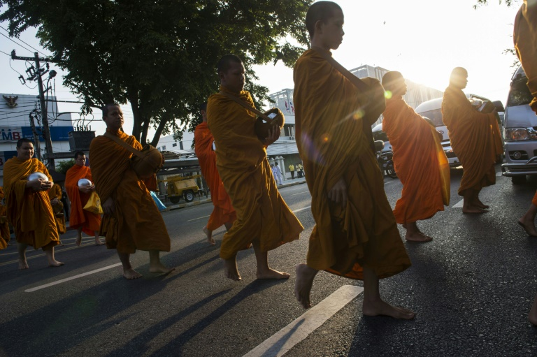 Eat, pray, exercise: Thailand's monks battle weight problems