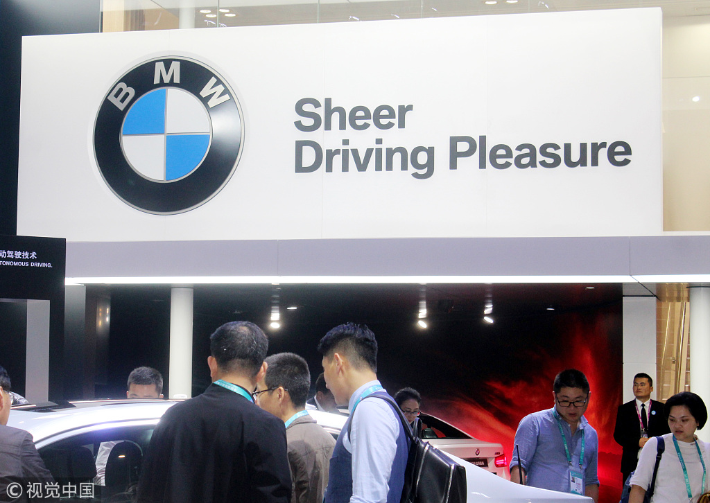 BMW gains ride-hailing license in China