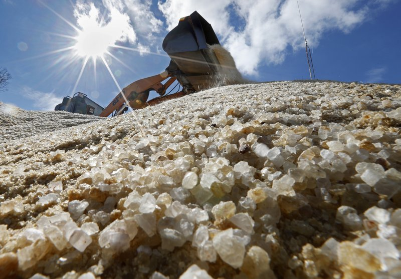Road salt prices higher as winter looms