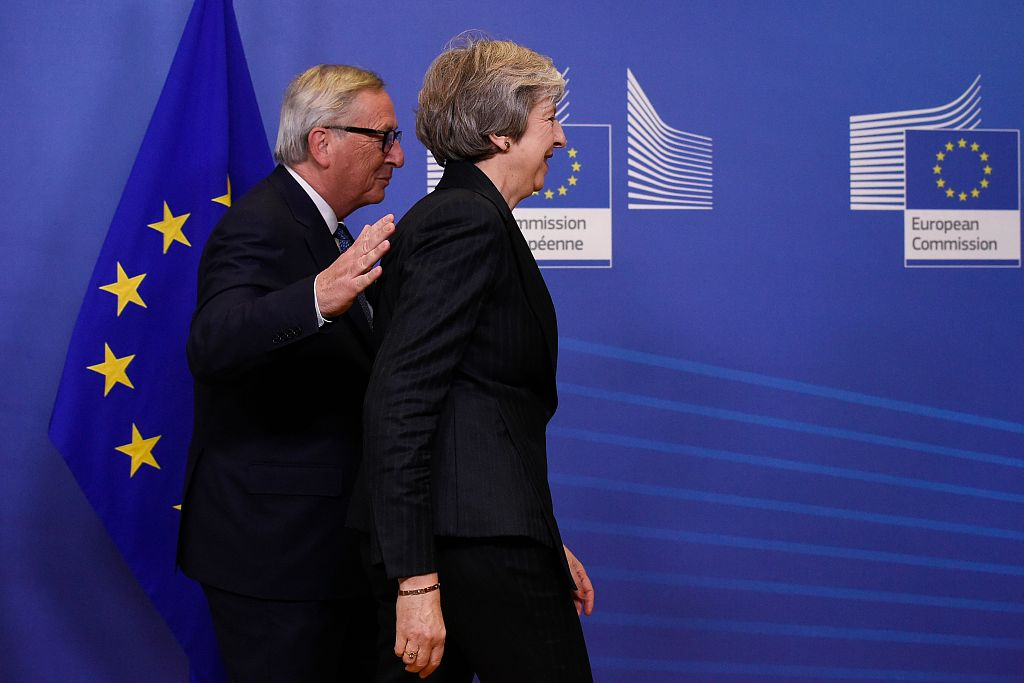 UK's May heads to Brussels as Spain threatens Brexit summit