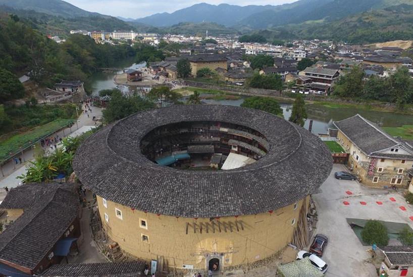 Yunshuiyao ancient town in SE China's Fujian