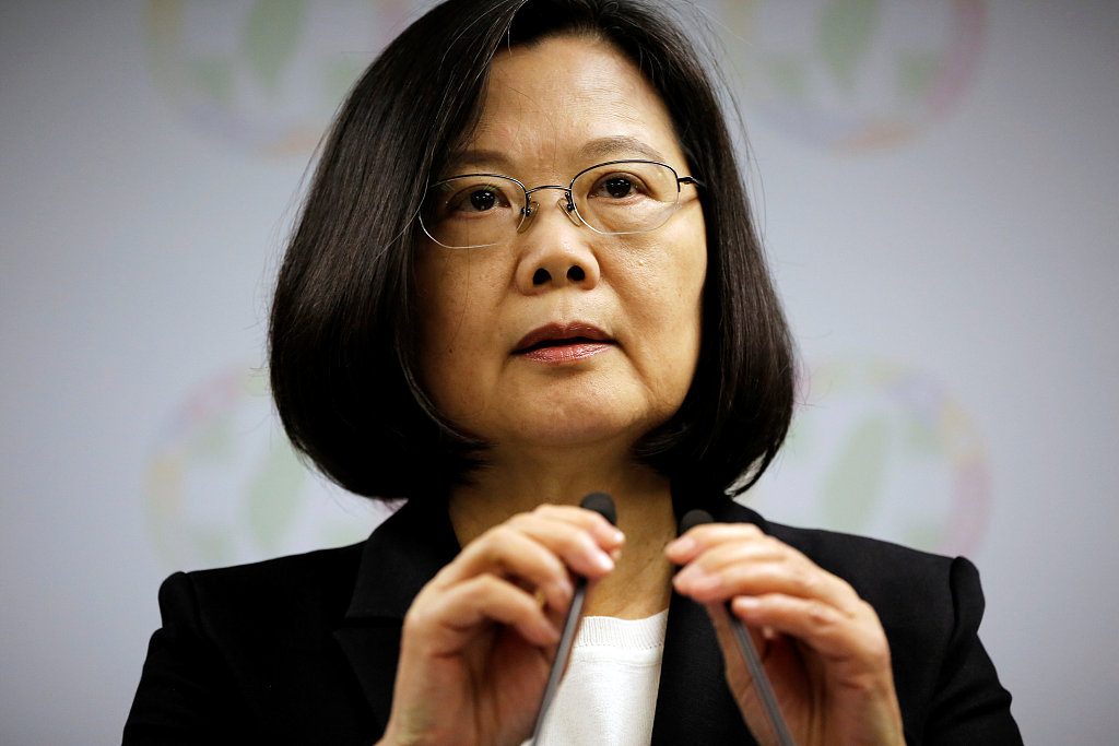 Tsai Ing-wen quits DPP chair