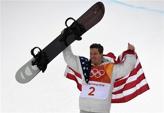 Snowboarding legend White impressed by Air+Style Beijing