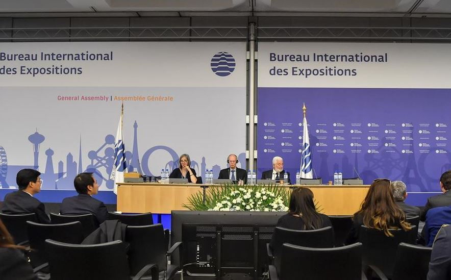 BIE elects Japan to host World Expo 2025