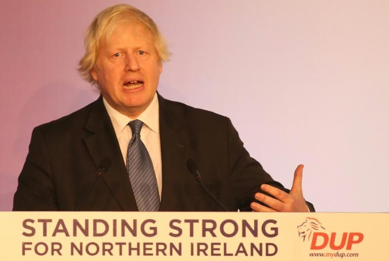 Ex-British FM Johnson says Brexit deal like 'Titanic'