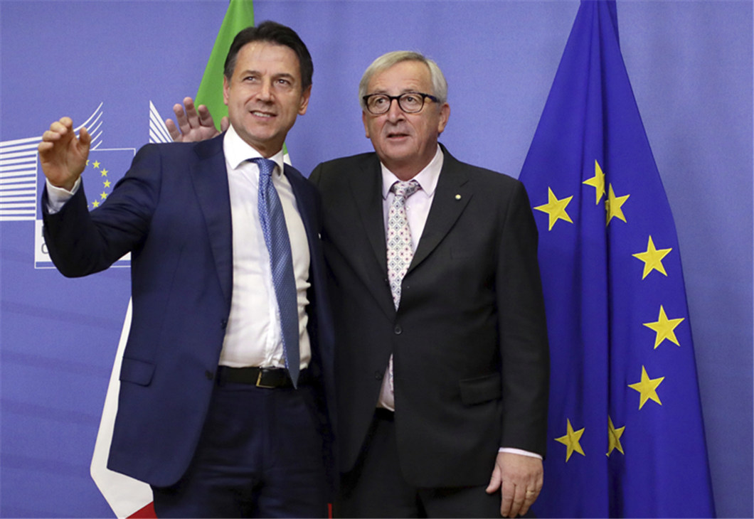 Italy PM 'confident' Rome can avoid EU sanctions over budget