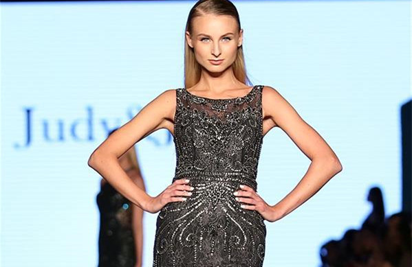 Creations of Chinese brands presented during Dubai Fashion Days