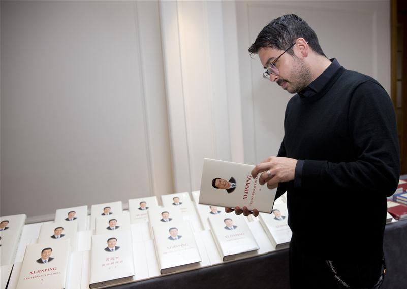 Readers' seminar on Xi's book on governance held in Madrid
