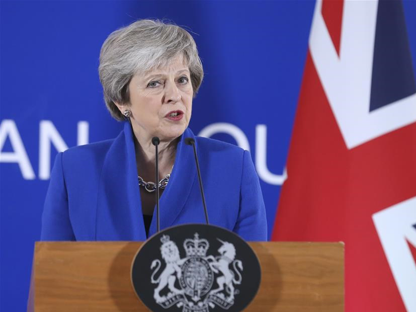 Theresa May addresses press conference at special Brexit summit