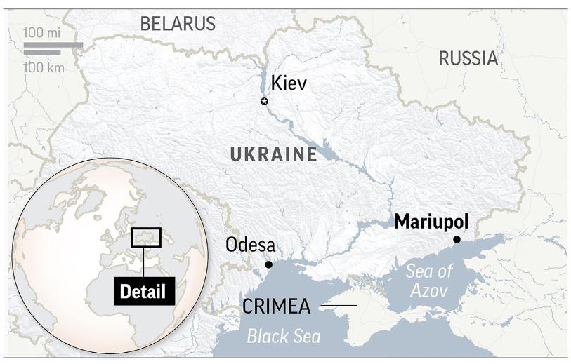 Russia blocks passage in Kerch Strait after Ukraine incident