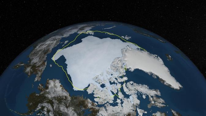 NASA weighs in on petroleum development in Arctic Ocean