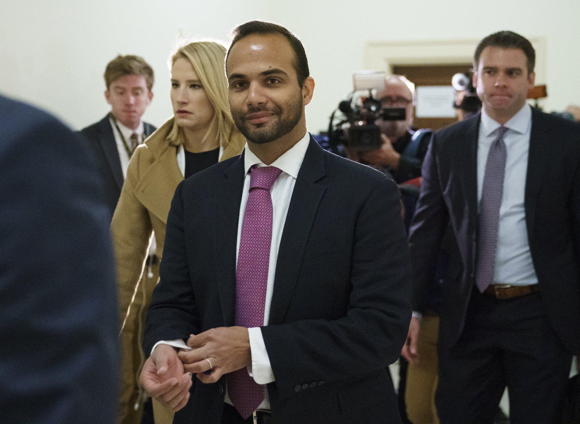 US judge orders ex-Trump campaign adviser Papadopoulos to report to jail