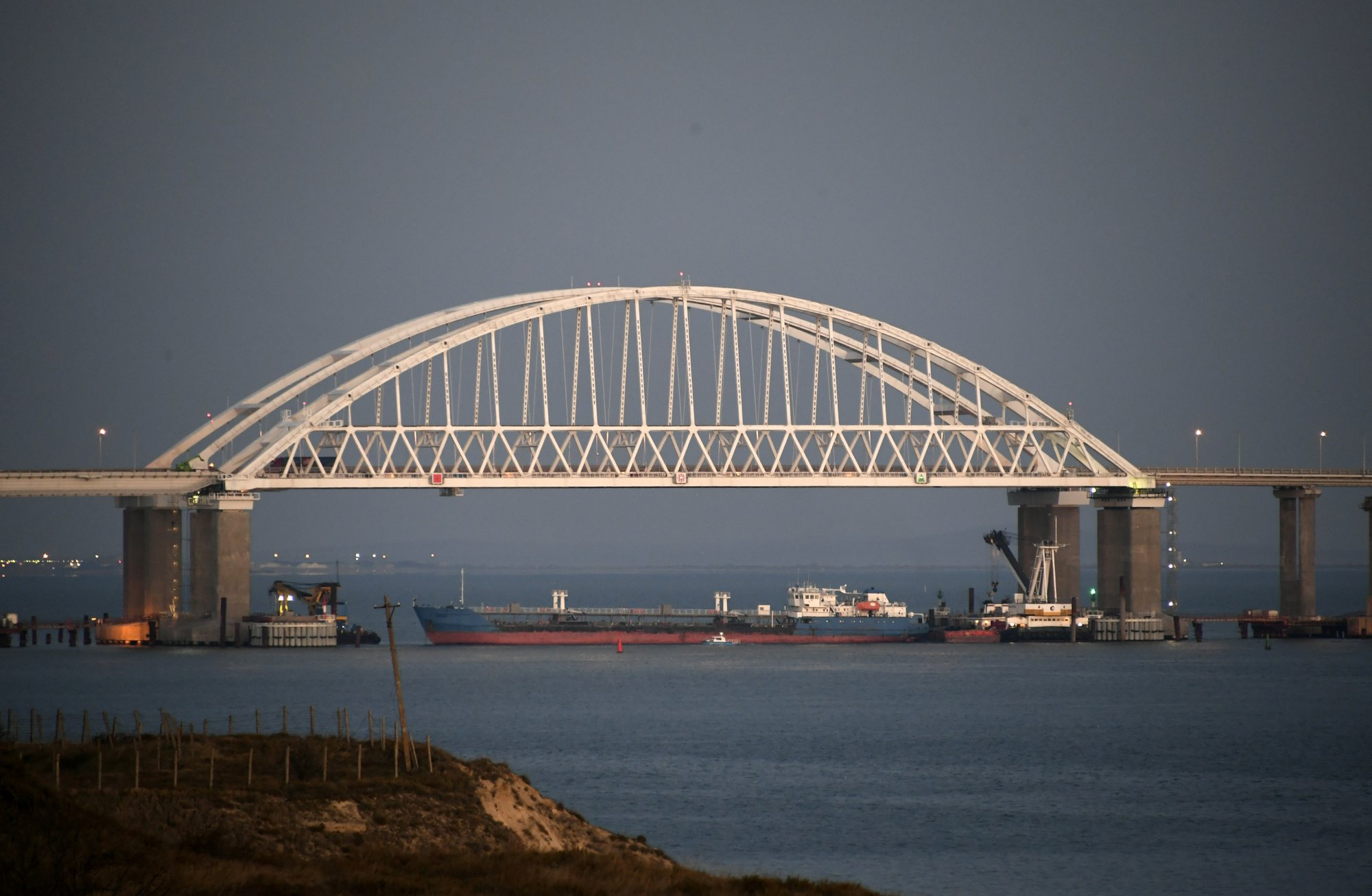 Moscow confirms Russia shoots, holds 3 Ukrainian naval ships in Black Sea