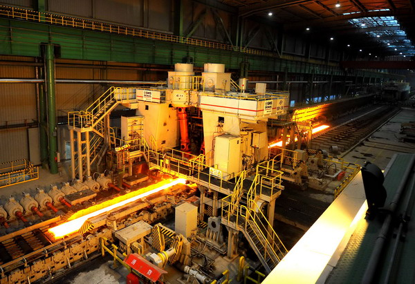 China's iron and steel industry maintains steady growth