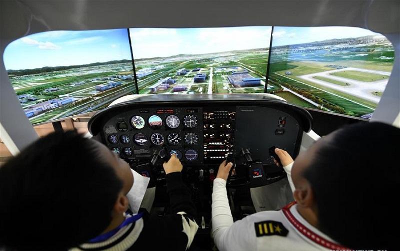 China Junior Flight Simulation Championships held in Harbin