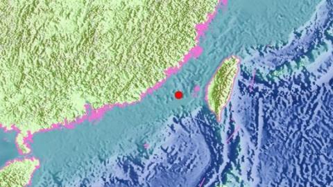 6.2-magnitude quake hits areas near Taiwan Strait: CENC