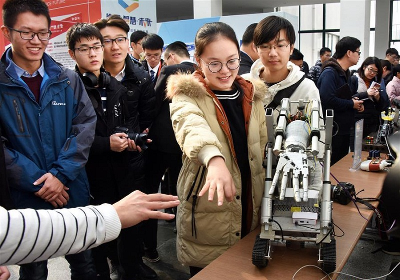 1st China College Students' Innovation and Entrepreneurship Competition held in Qingdao