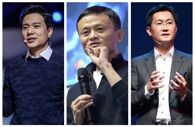 Beijing to honor founders of three internet giants
