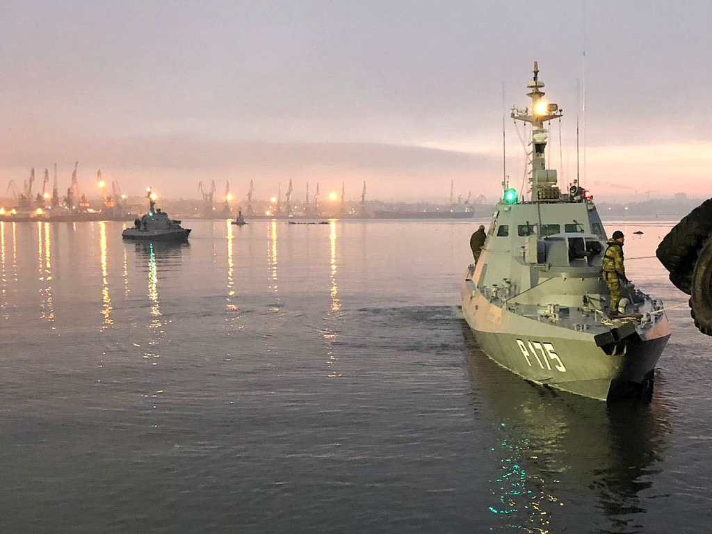 Ukrainian army on full combat alert over tensions with Russia in Sea of Azov