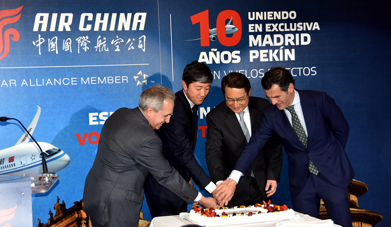 Air China brings Asian country and Spain closer together