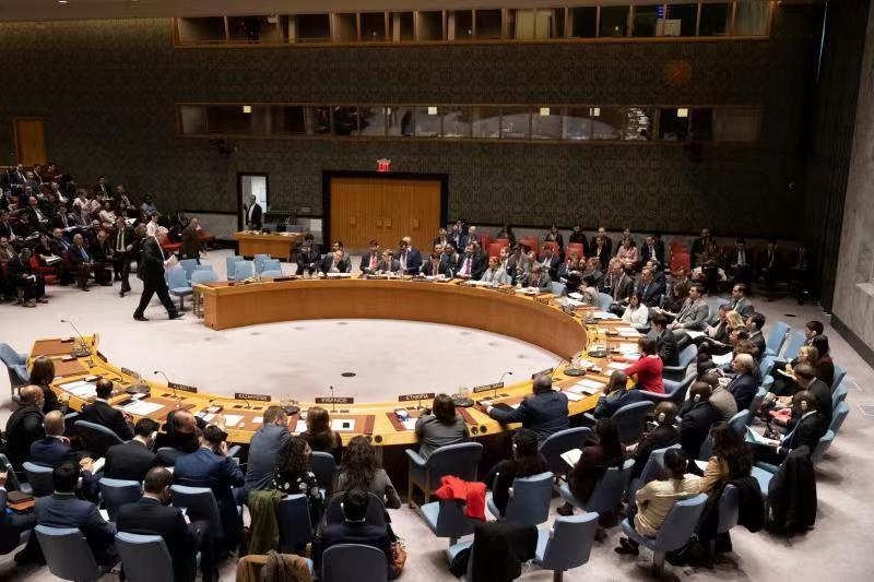 China's UN vice envoy urges restraint on Russia-Ukraine tension