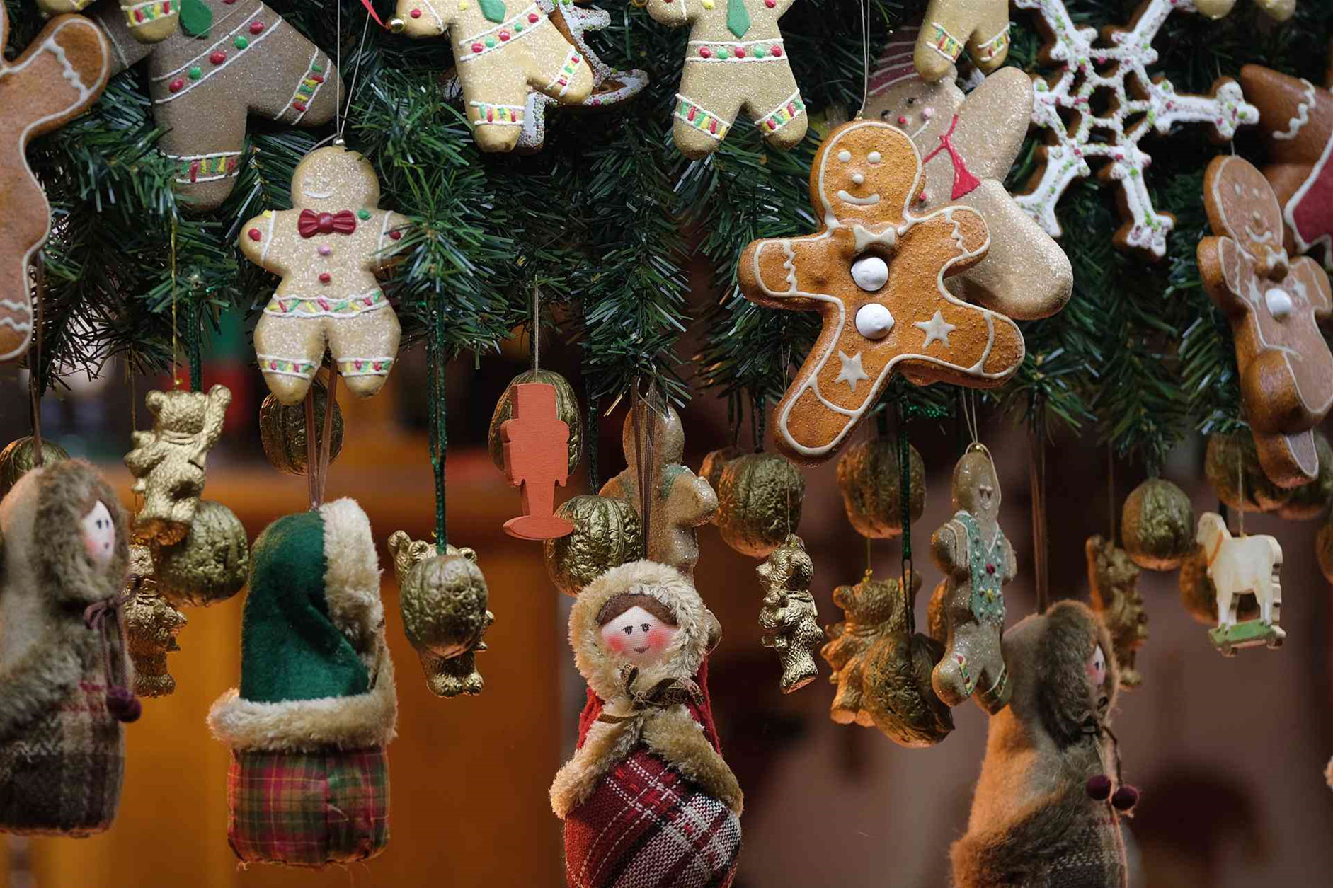 The annual Christmas market was held in Germany