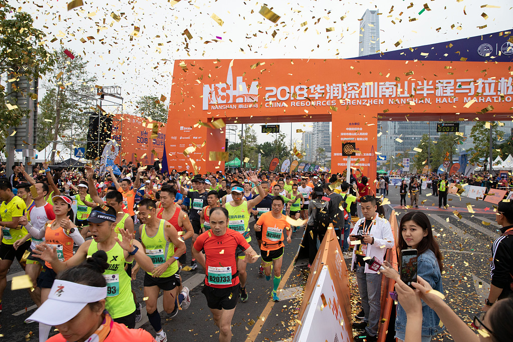 5.3 million runners join over 1,000 marathons in China in 2018